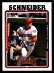 2005 Topps #449  Brian Schneider  Front Thumbnail