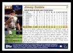 2005 Topps #57  Jimmy Gobble  Back Thumbnail