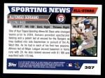 2005 Topps #357   -  Alfonso Soriano All-Star Back Thumbnail