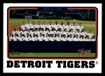 2005 Topps #648   Detroit Tigers Team Front Thumbnail