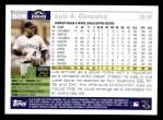 2005 Topps #608  Luis A. Gonzalez  Back Thumbnail