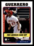2005 Topps #715   -  Vladimir Guerrero Most Valuable Player Front Thumbnail