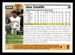 2005 Topps #589  Jose Castillo  Back Thumbnail