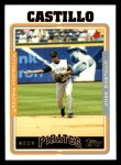2005 Topps #589  Jose Castillo  Front Thumbnail