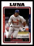 2005 Topps #617  Hector Luna  Front Thumbnail