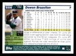 2005 Topps #556  Dewon Brazelton  Back Thumbnail