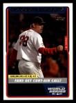 2005 Topps #352   -  Curt Schilling World Series Front Thumbnail