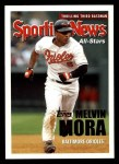2005 Topps #359   -  Melvin Mora All-Star Front Thumbnail