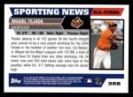 2005 Topps #358   -  Miguel Tejada All-Star Back Thumbnail