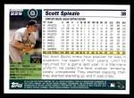 2005 Topps #229  Scott Spiezio  Back Thumbnail