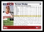 2005 Topps #418  Terrmel Sledge  Back Thumbnail