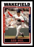 2005 Topps #74  Tim Wakefield  Front Thumbnail