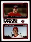 2005 Topps #331  Dallas McPherson / Jeff Mathis  Front Thumbnail