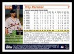 2005 Topps #574  Troy Percival  Back Thumbnail