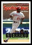 2005 Topps #360   -  Vladimir Guerrero All-Star Front Thumbnail