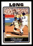 2005 Topps #196  Terrence Long  Front Thumbnail