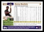 2005 Topps #128  Danny Bautista  Back Thumbnail