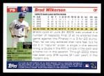 2005 Topps #79  Brad Wilkerson  Back Thumbnail