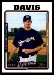 2005 Topps #509  Doug Davis  Front Thumbnail