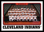 2005 Topps #646   Cleveland Indians Team Front Thumbnail