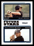 2005 Topps #329  Gabe Gross / Guillermo Quiroz  Front Thumbnail