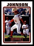2005 Topps #477  Nick Johnson  Front Thumbnail