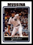 2005 Topps #147  Mike Mussina  Front Thumbnail