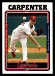 2005 Topps #207  Chris Carpenter  Front Thumbnail