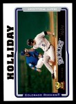 2005 Topps #136  Matt Holliday  Front Thumbnail