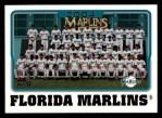 2005 Topps #649   Miami Marlins Team Front Thumbnail