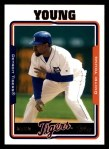 2005 Topps #185  Dmitri Young  Front Thumbnail