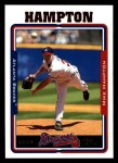2005 Topps #23  Mike Hampton  Front Thumbnail