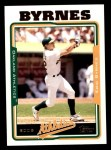 2005 Topps #37  Eric Byrnes  Front Thumbnail