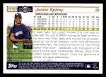 2005 Topps #563  Junior Spivey  Back Thumbnail