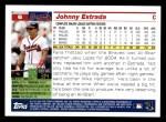 2005 Topps #6  Johnny Estrada  Back Thumbnail