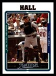 2005 Topps #264  Toby Hall  Front Thumbnail