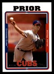 2005 Topps #250  Mark Prior  Front Thumbnail