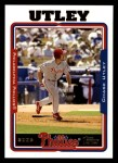2005 Topps #481  Chase Utley  Front Thumbnail