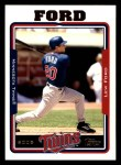 2005 Topps #192  Lew Ford  Front Thumbnail