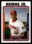 2005 Topps #545  Tony Armas Jr.  Front Thumbnail