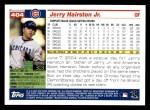 2005 Topps #404  Jerry Hairston Jr.  Back Thumbnail