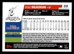 2006 Topps #35  Brad Wilkerson  Back Thumbnail