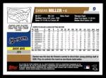 2006 Topps #9  Damian Miller  Back Thumbnail