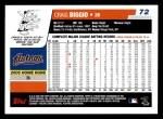 2006 Topps #72  Craig Biggio  Back Thumbnail