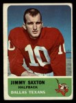 1962 Fleer #26  Jimmy Saxton  Front Thumbnail