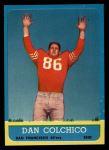 1963 Topps #144  Dan Colchico  Front Thumbnail