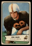 1954 Bowman #84  John Bauer  Front Thumbnail