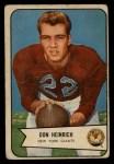 1954 Bowman #92  Don Heinrich  Front Thumbnail