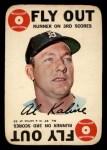 1968 Topps Game #27   Al Kaline   Front Thumbnail