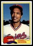 1981 Topps #89  Darrell Jackson  Front Thumbnail